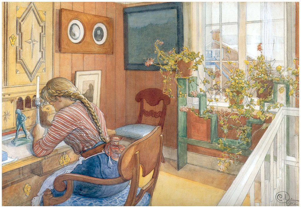 Carl och Karin Larsson med växter i fokus